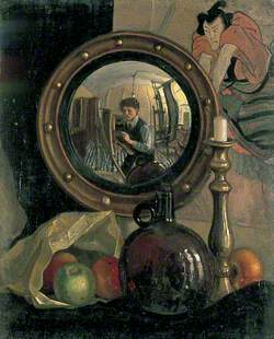 Still Life with Self Portrait