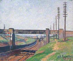 Wells Farm Railway Bridge, Acton, London