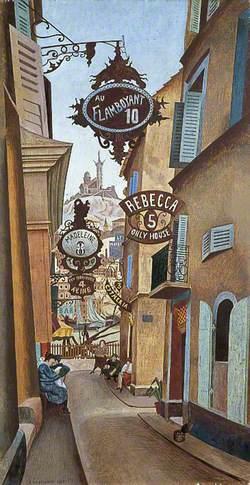 Rue de la Reynarde, Marseilles, France