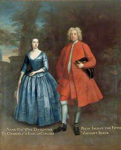 Rich Ingram, 5th Viscount Irwin (1687/1688–1721), and His Wife Anne Howard (c.1696–1764)