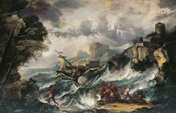 Seascape with Shipwreck