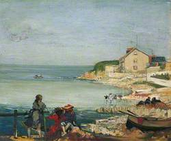 Beach Scene, Swanage, Dorset