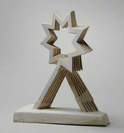 Maquette for the Charing Cross Triple Starhead Commission, London: Starhead