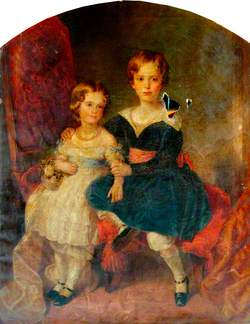 William J. Pearson, Aged 7,  and Elizabeth Pearson, Aged 5