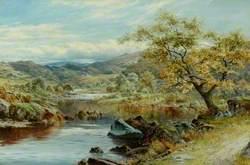 The Lledr Valley, Capel Curig