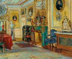Large Drawing Room with a Malachite Fireplace, Cliffe Castle