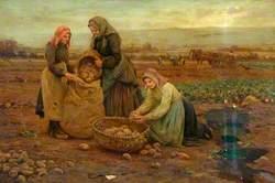 The Potato Pickers