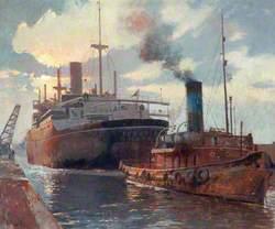 Leaving Royal Docks
