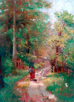 Landscape with Figures on a Path