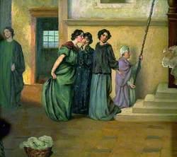 Figure Study, Group of Women