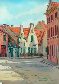 La rue de la Vigne, Bruges