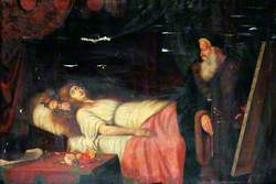 Tintoretto Painting the Portrait of His Dead Daughter Marietta