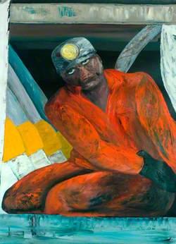 Miner Working Underground*
