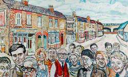 Original Cast of the ITV Serial Drama 'Coronation Street'