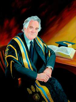 Professor John R. Tarrant, Vice-Chancellor of the University of Huddersfield