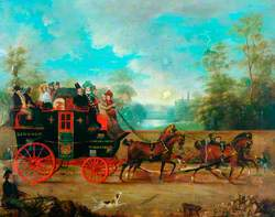 Lincoln and Wakefield Stagecoach