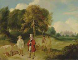 J. M. W. Turner and Walter Fawkes at Farnley Hall
