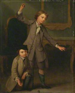 Two Boys, Probably Joseph and John Joseph Nollekens