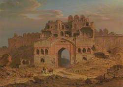 Inside the Main Entrance of the Purana Qila, Delhi