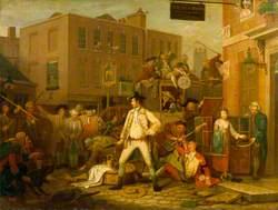 Scene in a London Street