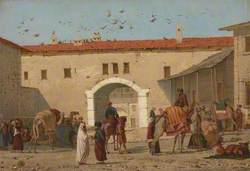 Caravanserai at Mylasa in Asia Minor