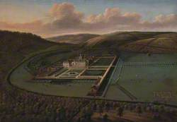 The Southeast Prospect of Hampton Court, Herefordshire