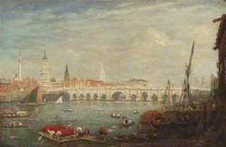 The Monument and London Bridge