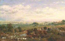 London from Islington Hill