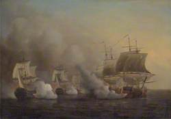Action off the Cape of Good Hope