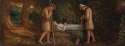 Imogen and the Shepherds, from 'Cymbeline', Act IV, Scene II