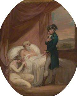 The Brahmin Committing His Daughter Coraly to the Care of Blandford