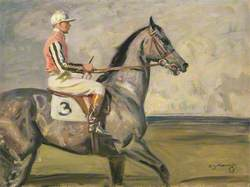 John Hay Whitney's Royal Minstrel, with Joe Childs Up