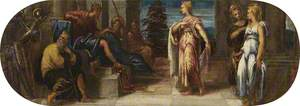 Esther and Ahasuerus or Solomon and the Queen of Sheba