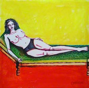 Lady on the Lounger