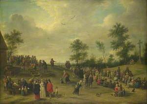 A Country Festival near Antwerp