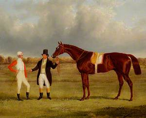 Euclid, with Jockey Connolly and Trainer Pettit
