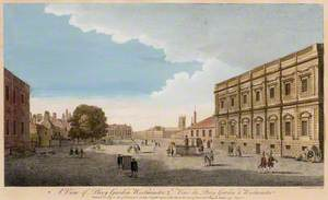A View of the Privy Garden, Westminster