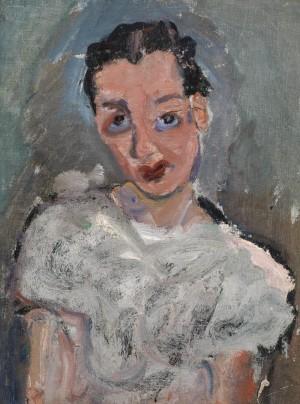Jeune femme à la blouse blanche (Young Woman in a White Blouse)