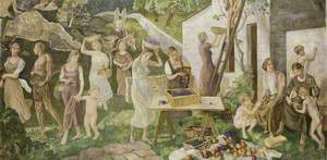 The Grape Harvest Panel, Aberdeen University Union