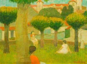 Les acacias, Saint-Lizier, France