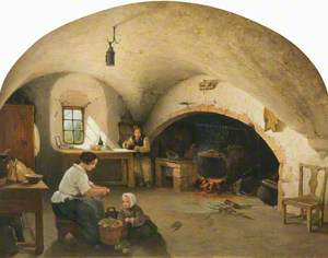 The Kitchen of Barra Castle, Aberdeenshire