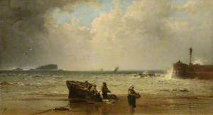 A North-Easter, North Berwick, East Lothian