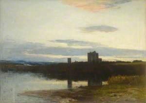 Spynie Castle and Loch, Moray