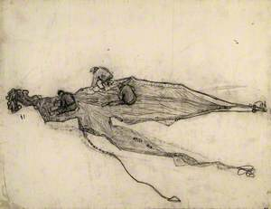 Three Men Mending a Net, Forte dei Marmi