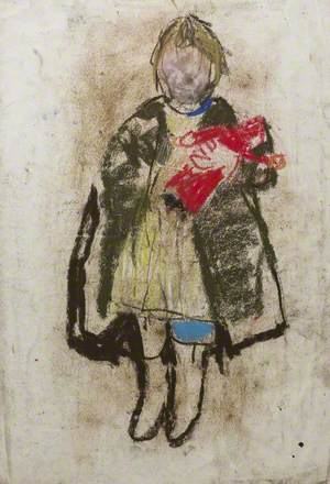 Child with Red Doll