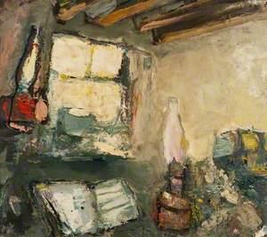 Interior, Lamp and Book