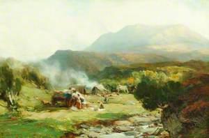 Gypsy Encampment, Ben Eay