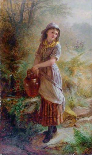 Girl at a Well