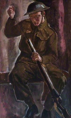 Portrait of a Soldier (Alistair Paterson)