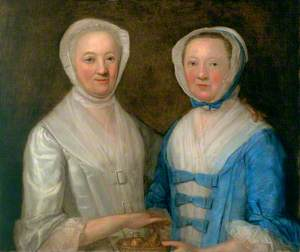 Two Daughters of George Alexander, Advocate